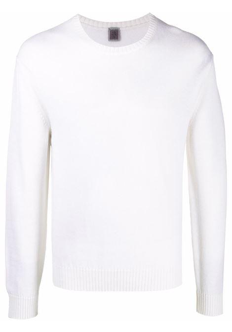 Crewneck jumper in white - men ELEVENTY | D76MAGC04MAG2401200