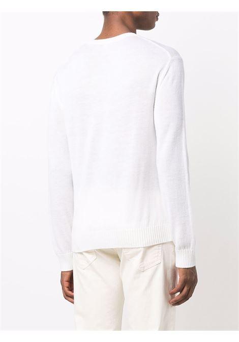 Maglione a girocollo in bianco - uomo ELEVENTY | D76MAGC04MAG2401200