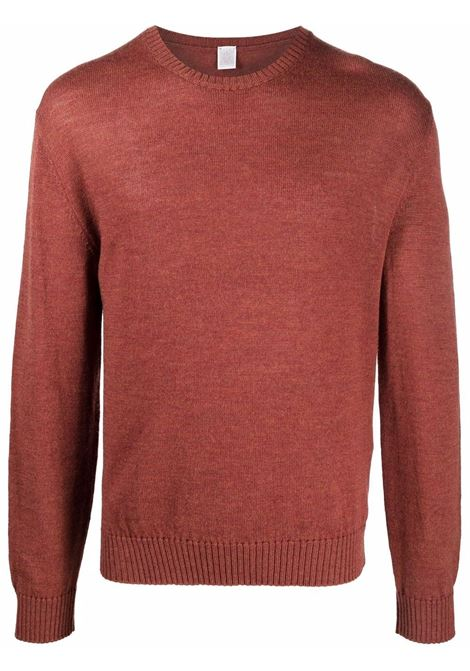Maglione a girocollo in rosso - uomo ELEVENTY | D76MAGC04MAG2401209N