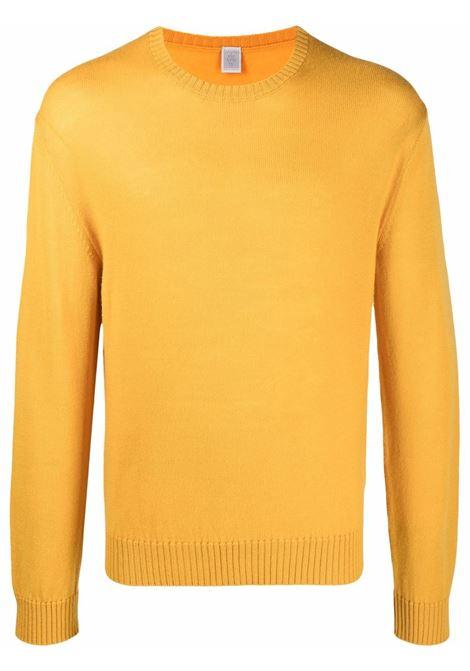 Maglione a girocollo in giallo mustarda - uomo ELEVENTY | D76MAGC04MAG2401228N