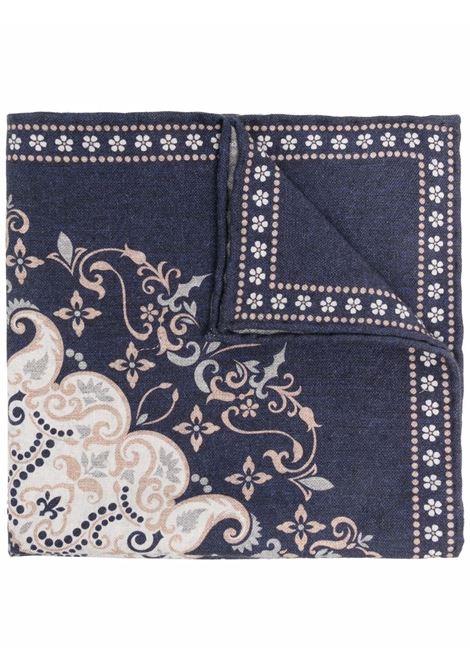 Fazzoletto da taschino blu - uomo ELEVENTY | D77POCA01TES0D0201104