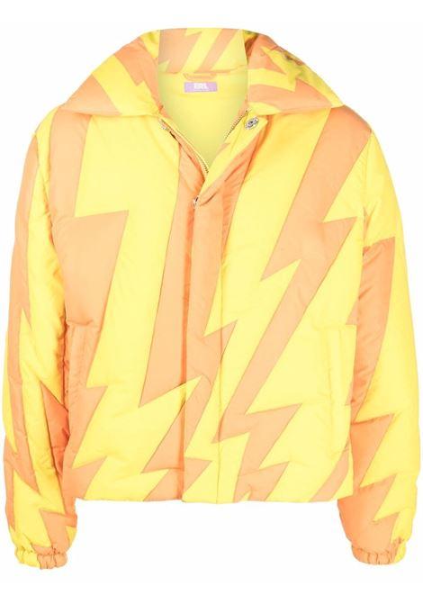 Piumino con stampa in giallo e arancione - uomo ERL | ERL03C0031