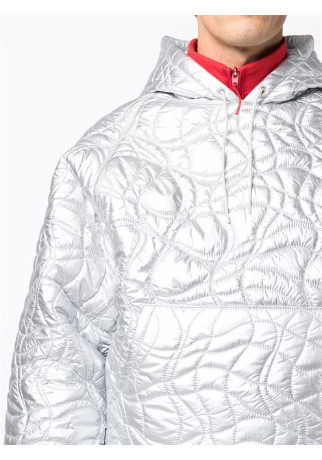 Quilted padded jacket in silver- men  ERL   ERL03J0021