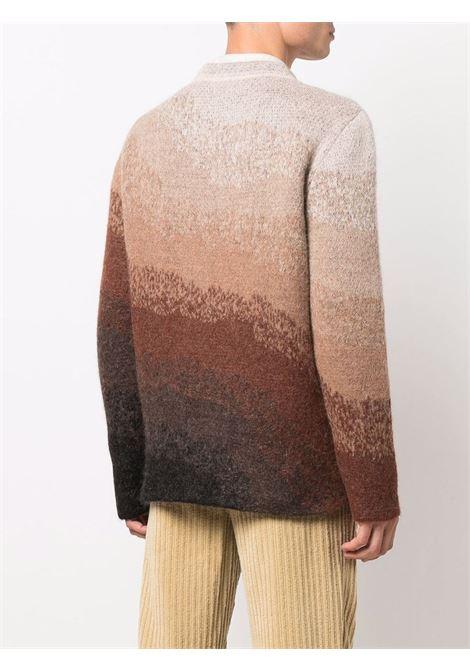 Maglione con effetto sfumato in marrone e crema - uomo ERL | ERL03N0031