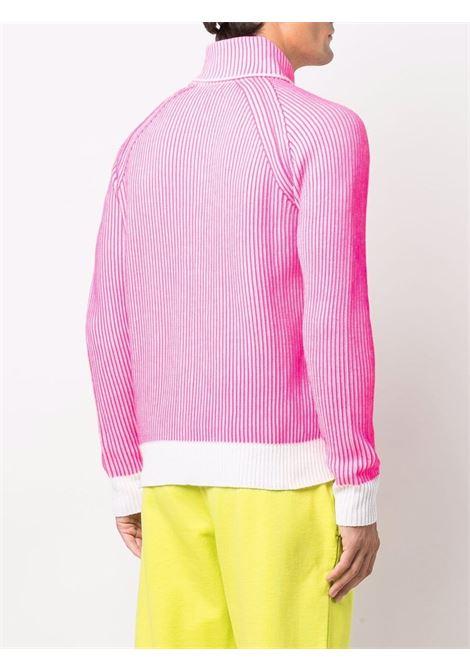 Cardigan con zip in rosa - uomo ERL | ERL03N0051