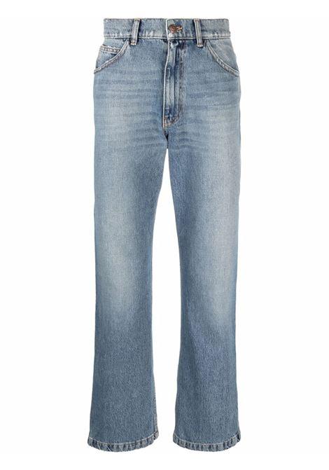 Low-rise straight-leg jeanslight-blue - men  ERL   ERL03P0041
