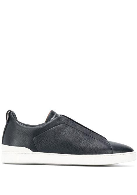 Sneakers senza lacci in blu - uomo ERMENEGILDO ZEGNA | LHCVOA4667X412