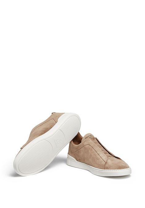 Sneakers senza lacci in marrone - uomo ERMENEGILDO ZEGNA | LHSOYA4667X252