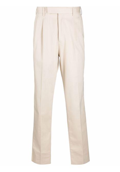 White straight-leg trousers - men  ERMENEGILDO ZEGNA | UYI06TP30100