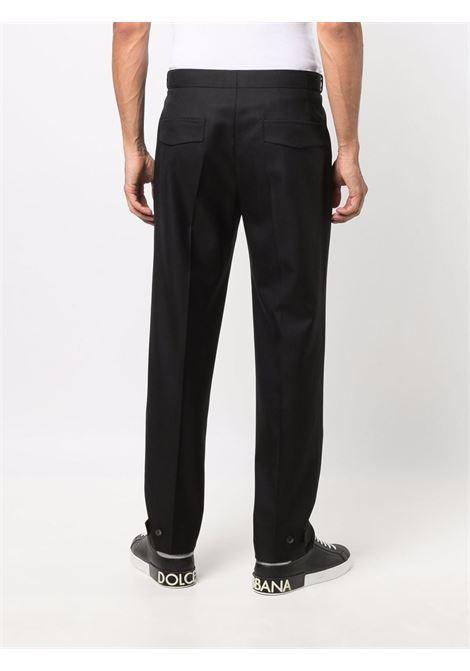 Pantaloni affusolati in nero - uomo ERMENEGILDO ZEGNA | UYI09TP22990