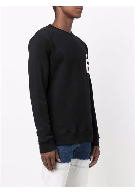 Story logo-patch sweatshirt in black - men  ÉTUDES | E18E11201