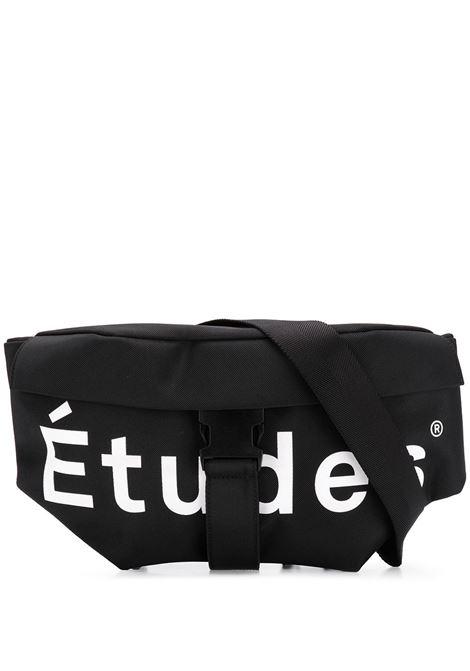 Sunday belt bag in black - men  ÉTUDES | EB1311701