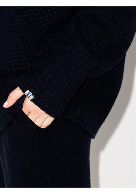 Maglione oversize a collo alto in blu - unisex EXTREME CASHMERE X   02000101FE01NVY
