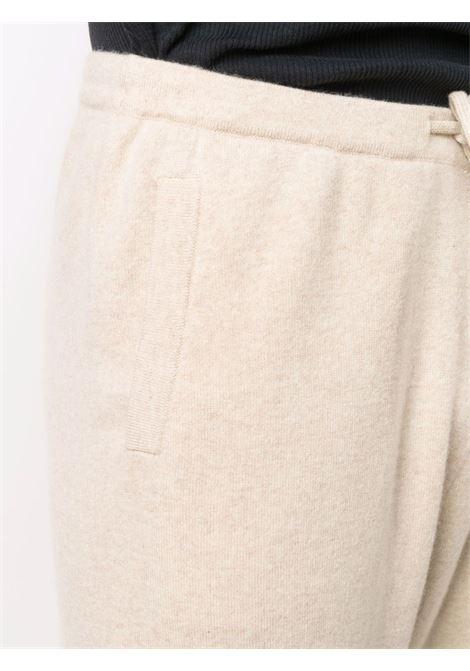 Pantaloni sportivi dritti in beige - unisex EXTREME CASHMERE X | 14201601FE06LTT