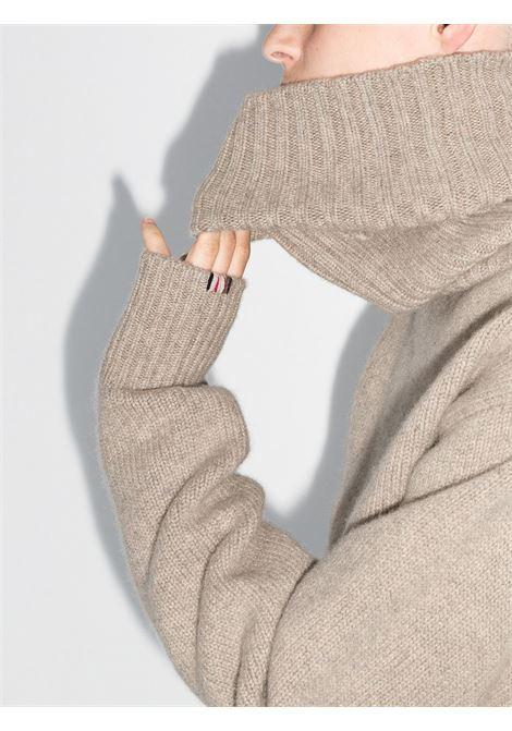 Maglione a collo alto in beige - unisex EXTREME CASHMERE X | 18803701FE01MSS