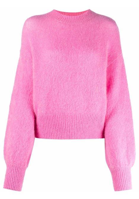 Maglione a girocollo in rosa - donna FEDERICA TOSI | FTI21MK0430FTAI210051