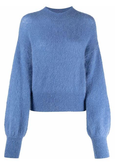 Maglione a girocollo in blu - donna FEDERICA TOSI | FTI21MK0430FTAI210061