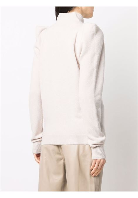 Maglia a collo alto bianco- donna FEDERICA TOSI | FTI21MK0520FTAI210544