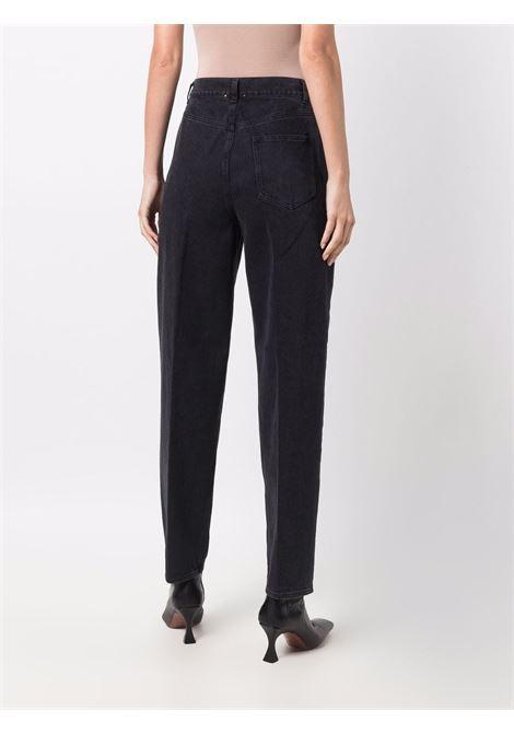 Jeans a vita alta in nero -donna FORTE FORTE | 8435BIS8000