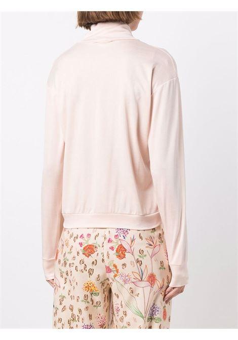 Top a collo alto in rosa cipria - donna FORTE FORTE | 85032002