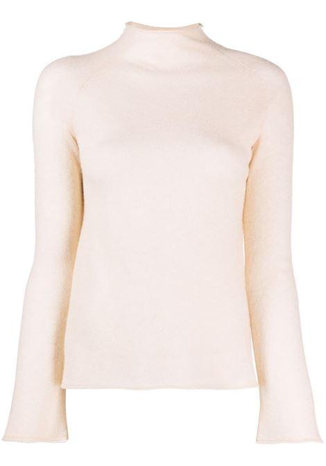Maglione a collo alto inmaglia fine in beige - donna FORTE FORTE | 85210061