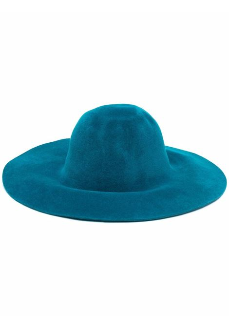 Teal blue wide brim fedora hat - women FORTE FORTE   85366044