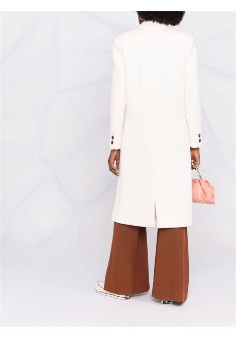 Cappotto doppiopetto in bianco - donna FORTE FORTE | 86120214
