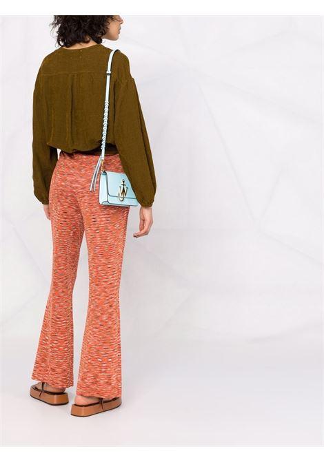 Camicia con nodo in khaki - donna FORTE FORTE   86423013