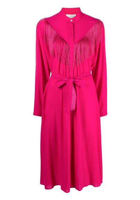 Abito con frange in rosa - donna FORTE FORTE | 86502031