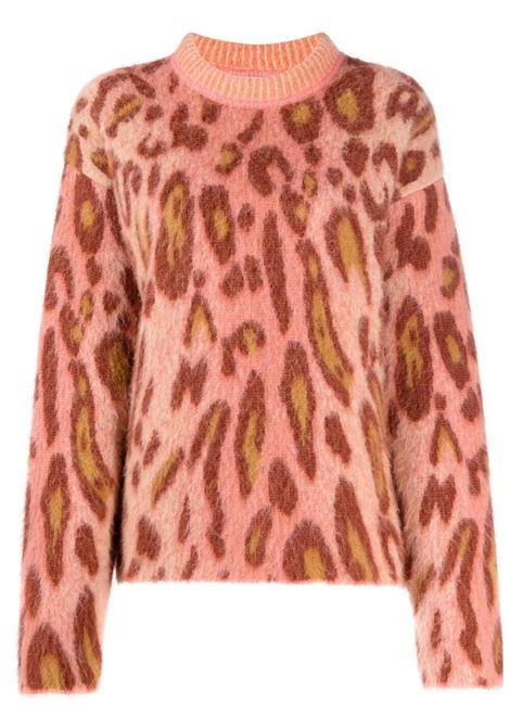 Maglione con stampa leopardata multicolore - donna FORTE FORTE | 87142031