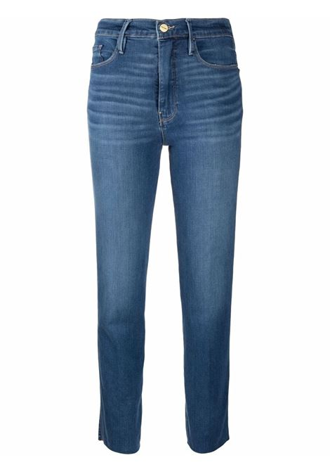 Crop jeans blue- women FRAME DENIM | LSYCRA230ADCBL