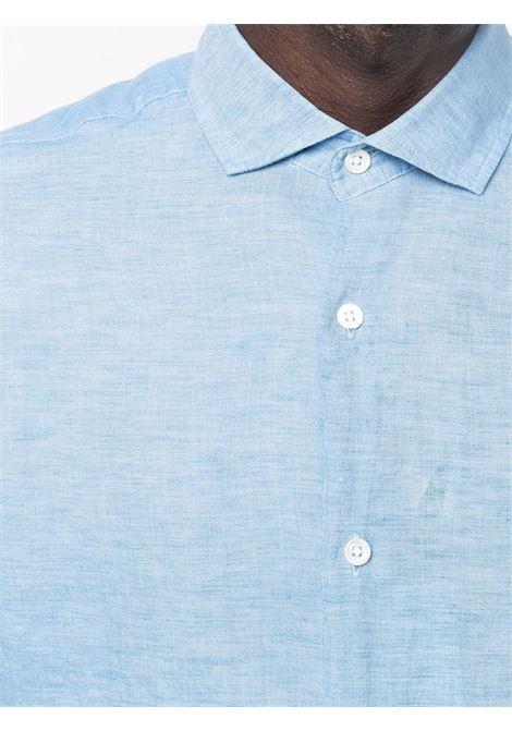 Antonio shirt in light blue - men  FRESCOBOL CARIOCA | 1060525
