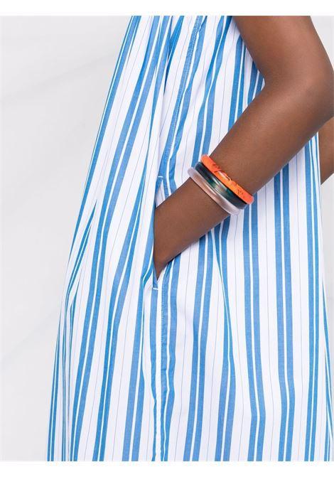 Striped maxi dress women GANNI | F5976572