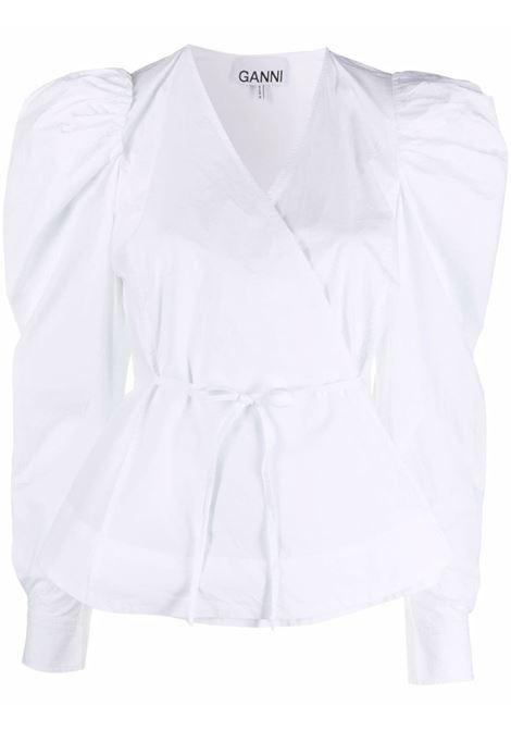 Camicia a portafoglio donna GANNI | F6035151