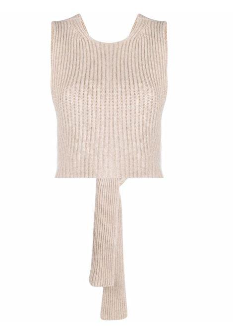 Top corto in maglia donna GANNI | K1525196