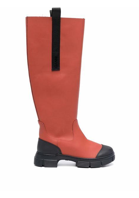 Stivali country al ginocchio donna GANNI | Stivali | S1545470