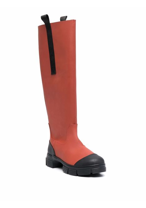 Knee country boots women GANNI   S1545470