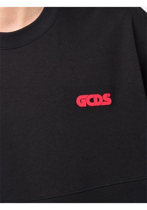 Felpa con logo a girocollo - uomo GCDS | CC94M02150702