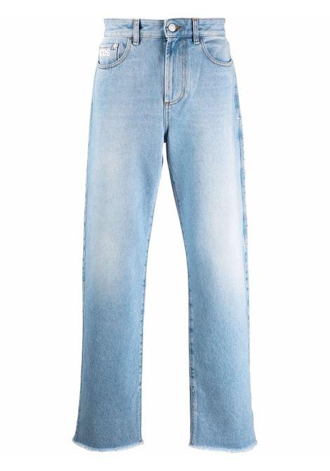 Light blue straight-leg jeans - men  GCDS | CC94M03140755