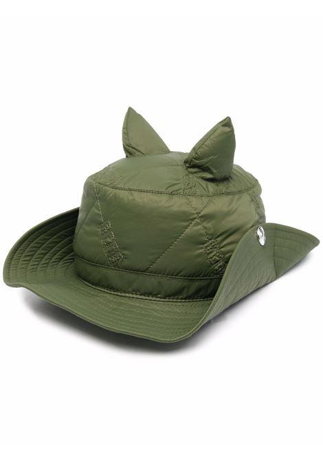 Cappello con orecchie in verde - uomo GCDS | FW22M01001918