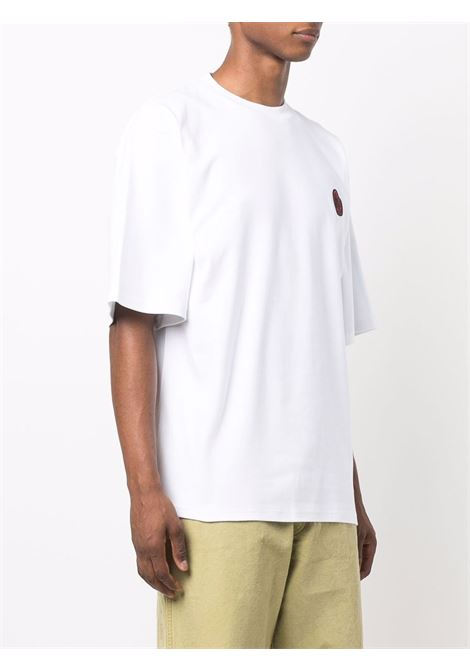 All you need is gcds t-shirt in white - men  GCDS | FW22M02006001