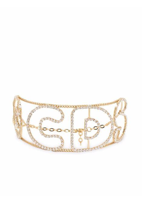 Crystal-embellished choker - women GCDS | FW22W01066401