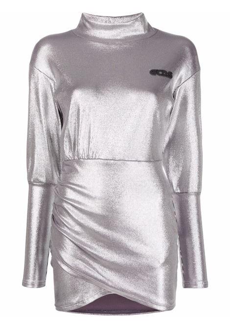 Abito a portafoglio in argento - donna GCDS | FW22W02003717