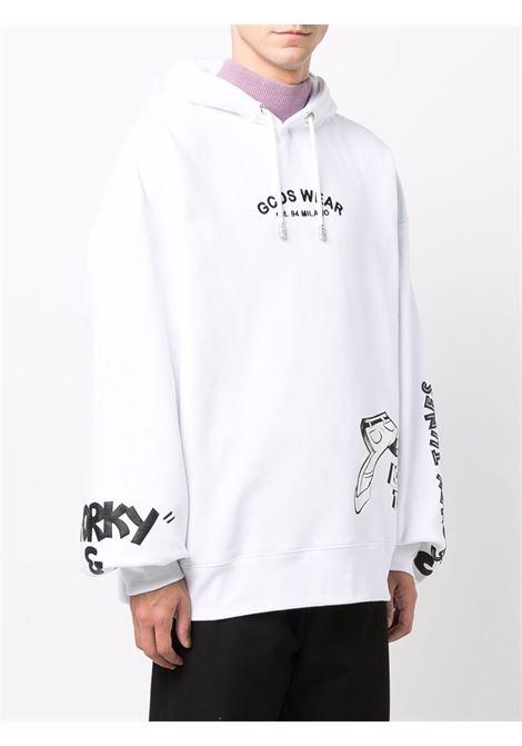 Looney tunes cartoons sweatshirt in white - men GCDS | WB22M02005001