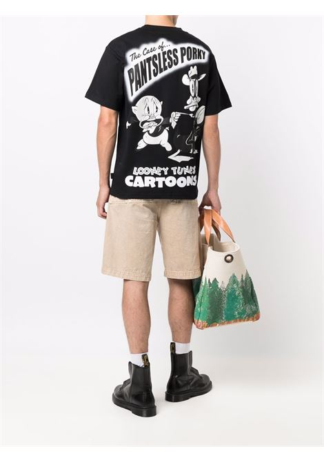 Looney tunes cartoons t-shirt in black - men GCDS | WB22M02005102