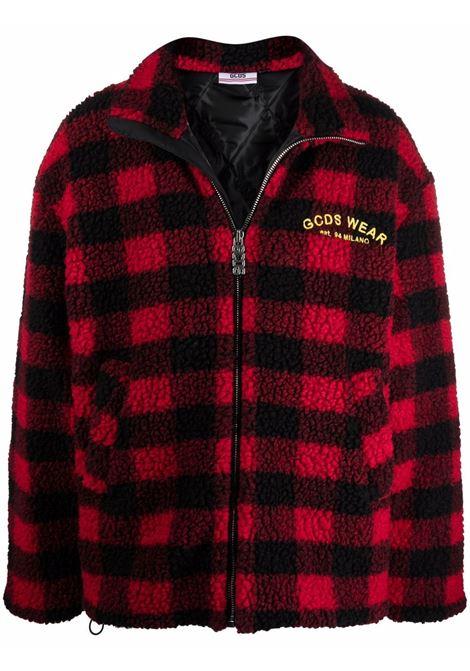 Looney tunes cartoons jacket in red - men GCDS | WB22M04010003