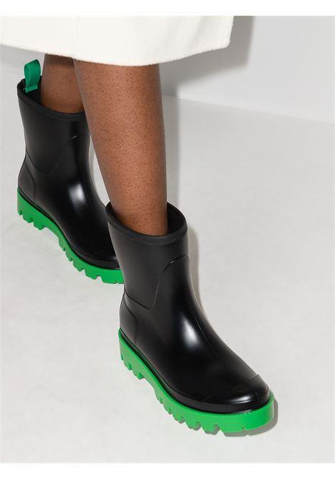 Stivali alla caviglia in nero e verde - donna GIA BORGHINI | GIOVEB182