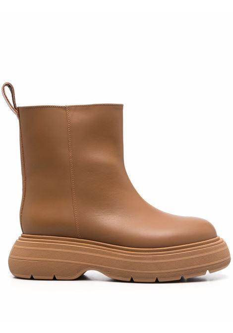 Stivali marte alla caviglia in marrone cammello - donna GIA BORGHINI | MARTEE155