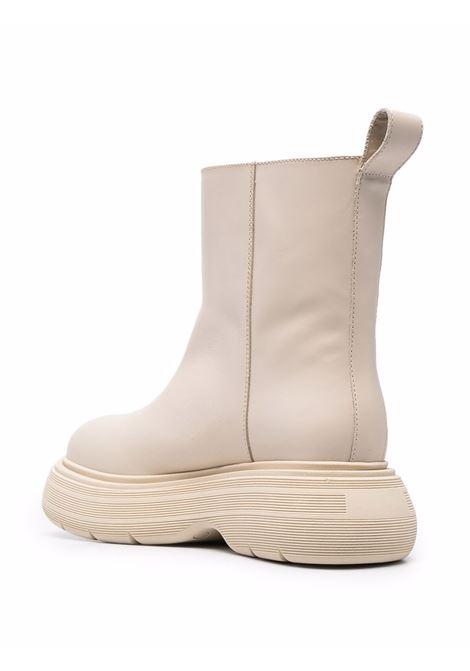 Stivaletti marte alla caviglia in beige - donna GIA BORGHINI | MARTEE161