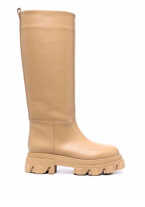 Beige tubular combat boots - men  GIA BORGHINI | PERNI07B123